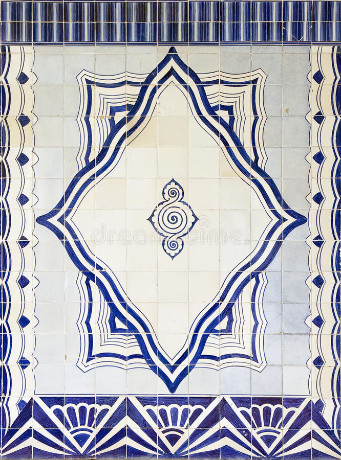Tiles (Azulejos) royalty free stock photography