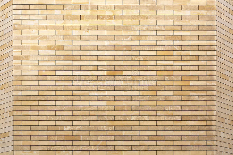 Tiles. Finest Yellow Marble Tiles Wall Background stock photography
