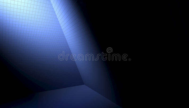 Tiles Inside Pyramid Stock Illustration
