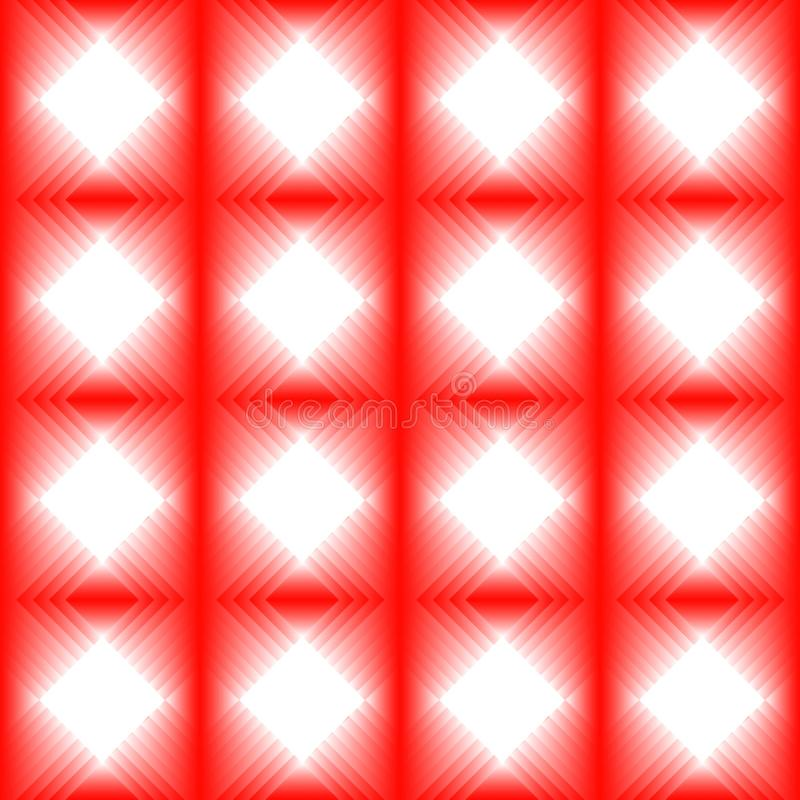 Tiles made of red diamond. royalty free illustration