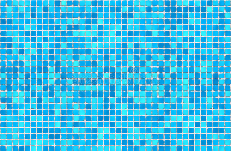 Download Tiles - mosaic stock illustration. Image of square, azure - 586936