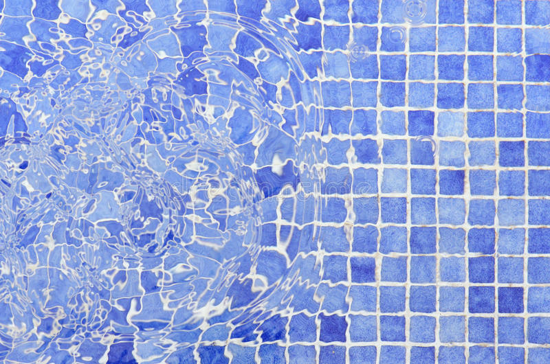 Tiles mosaic pool tiles water royalty free stock photography