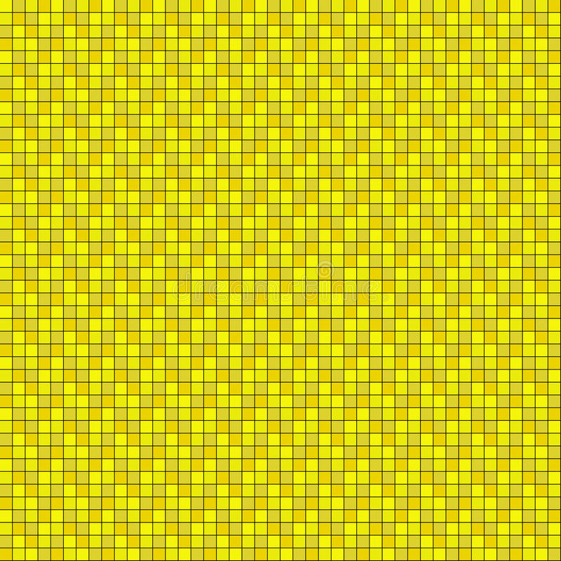 Tiles orange yellow royalty free illustration