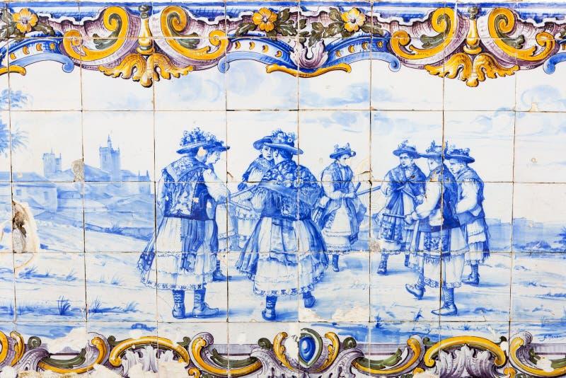 Tiles, Portugal stock photos