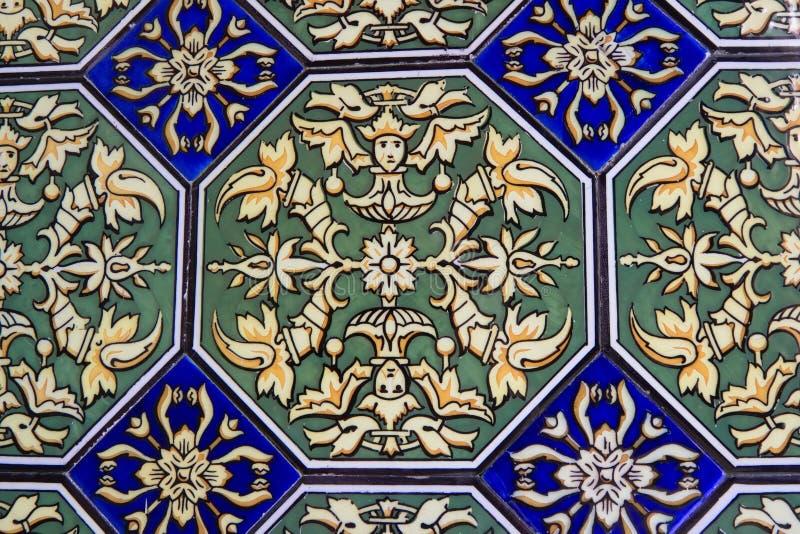 Tiles, Seville, Spain stock photography