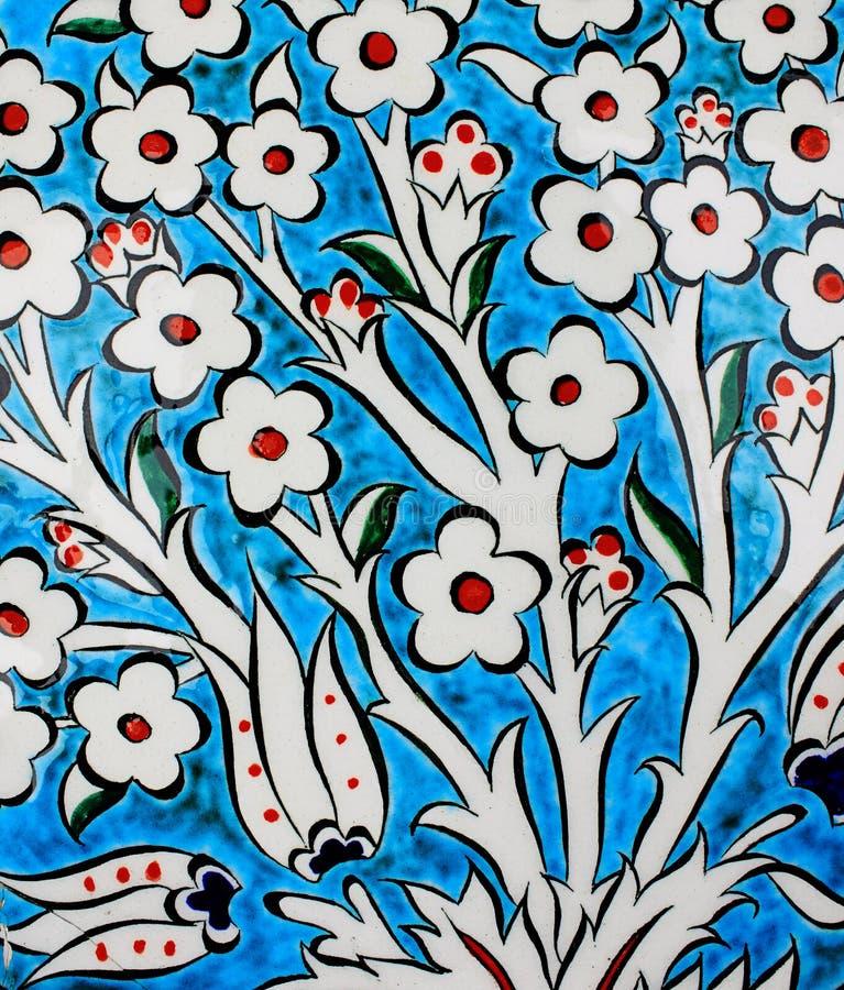 tiles turk royaltyfri illustrationer