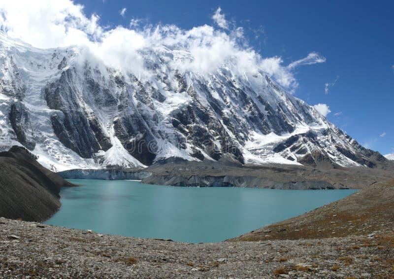 Tilicho sjö fotografering för bildbyråer