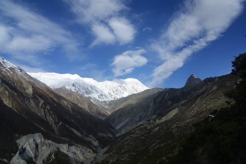 Tilicho szczyt zdjęcie stock