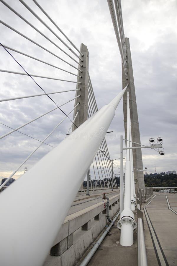Tilikum-Überfahrt-Brücke stockbilder