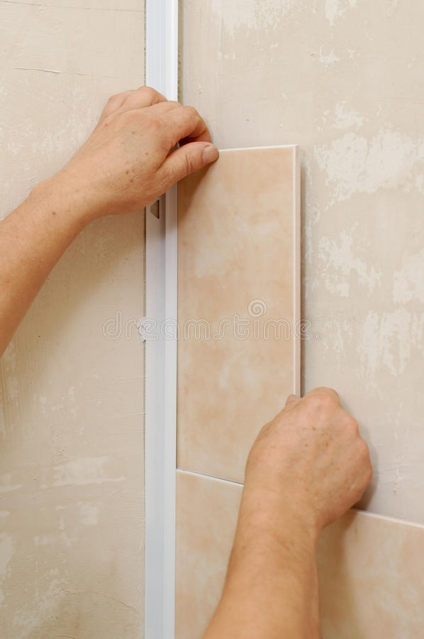 Tiling stockbilder