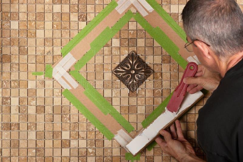 Tiling royalty free stock photos