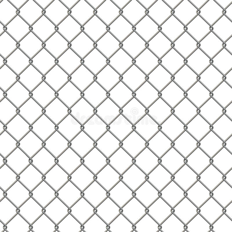 Tiling Texture Of Barbed Wire Fence. Stock Illustration ...