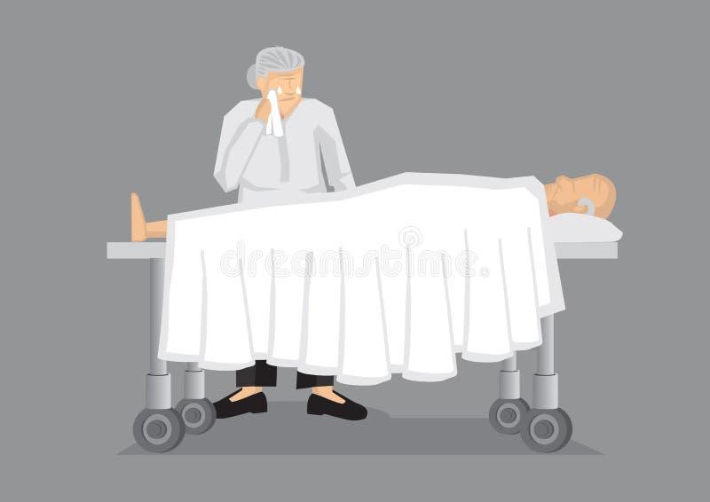 Till Death Do nosotros ejemplo del vector de la parte stock de ilustración