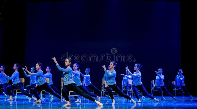 Till denuniversitetsområde dansen royaltyfria foton