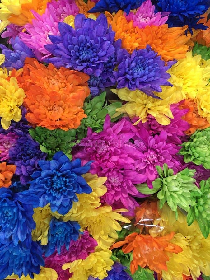 Till salu blommabuketter fotografering för bildbyråer
