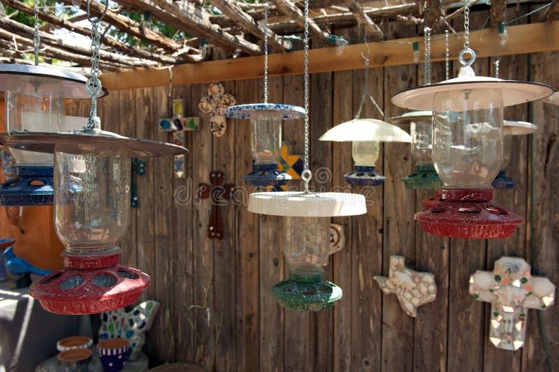 Till salu lampor, San Angelo, Texas, US arkivbilder