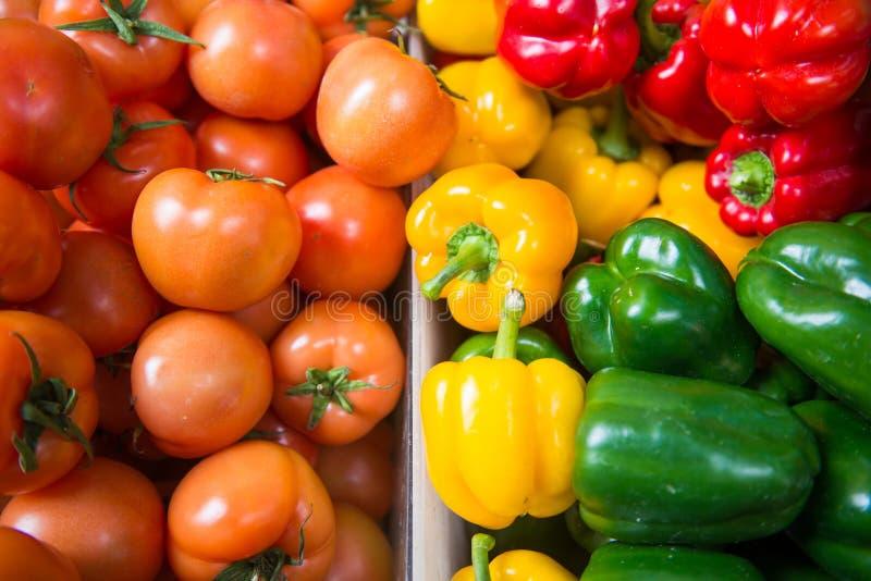 Till salu ny grönsak royaltyfri bild