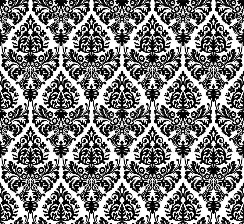 Tillable Textuur van de Jugendstil royalty-vrije illustratie