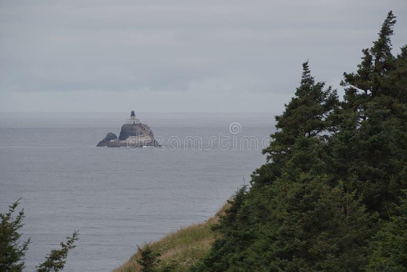 Tillamook-Felsen-Leuchtturm A lizenzfreies stockfoto
