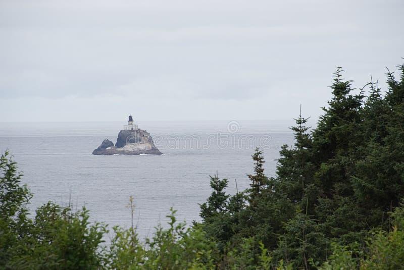 Tillamook-Felsen-Leuchtturm C lizenzfreies stockfoto