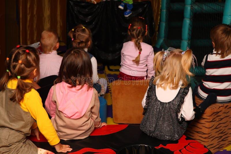 tillbaka barnferie royaltyfria bilder