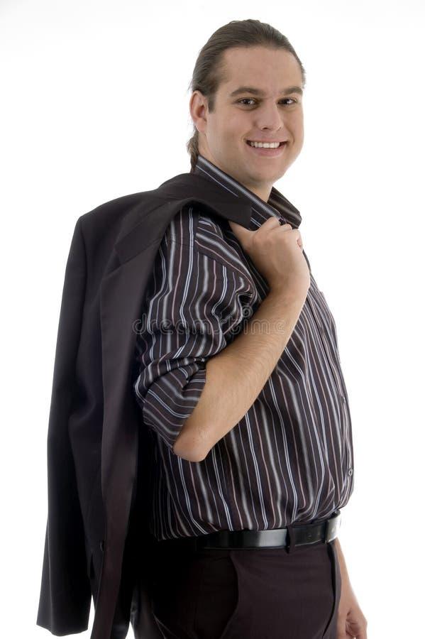 tillbaka lag för advokat hans holding arkivfoton