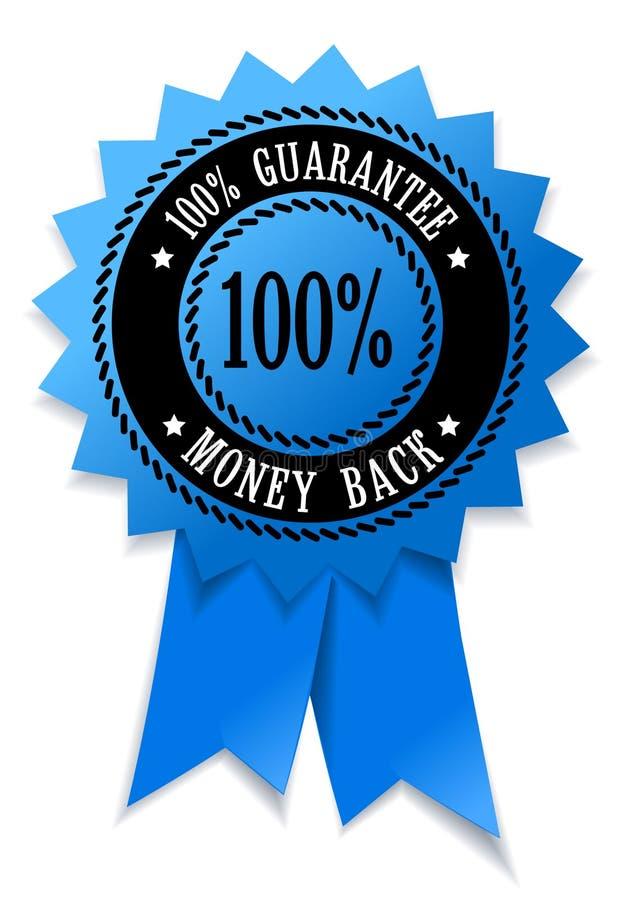 tillbaka pengarspamp stock illustrationer