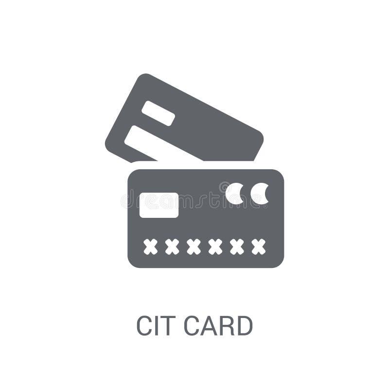 tillbaka sida för symbol för kortkrediteringsframdel  royaltyfri illustrationer
