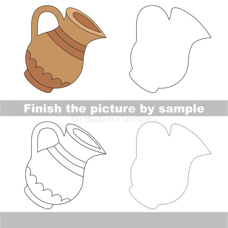 Tillbringare Teckningsarbetssedel royaltyfri illustrationer