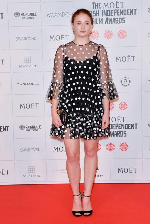 """Tilldelar den oberoende filmen för den Moà """"t-britten 2014 royaltyfri fotografi"""