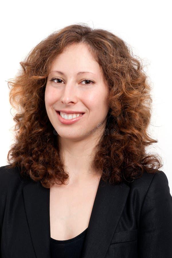 tillfällig kvinna för affär royaltyfri foto