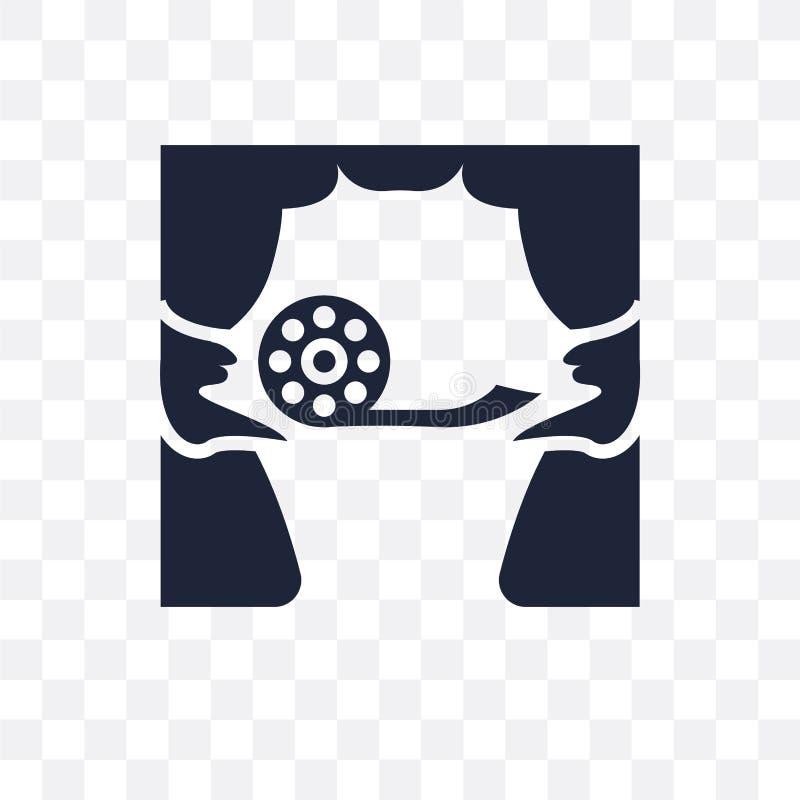 tillförordnad genomskinlig symbol för stämma tillförordnad symboldesign för stämma från E vektor illustrationer