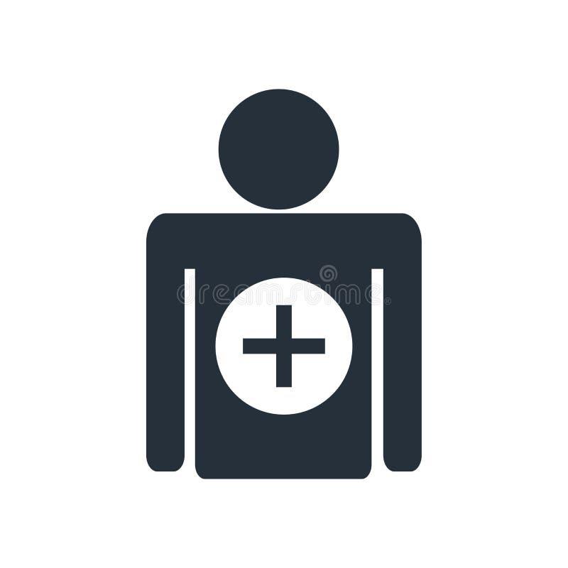 Tillfoga tecknet för teckensymbolsvektorn, och symbolet som isoleras på vit bakgrund, tillfogar teckenlogobegrepp vektor illustrationer