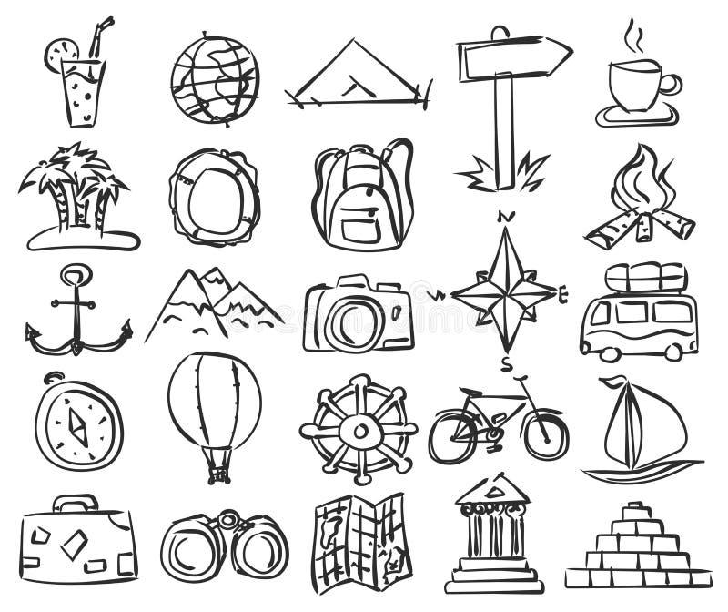 tillgänglig vektor för eps-symbolslopp royaltyfri illustrationer
