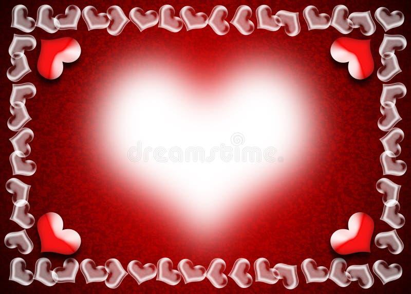 tillgänglig vektor för valentiner för kortdagmapp arkivbild