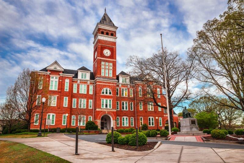 Tillman Hall an Clemson-Universität stockfotografie