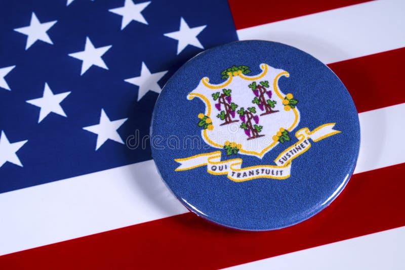 Tillstånd av Connecticut i USA royaltyfri foto