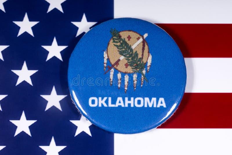 Tillstånd av Oklahoma i USA arkivbilder