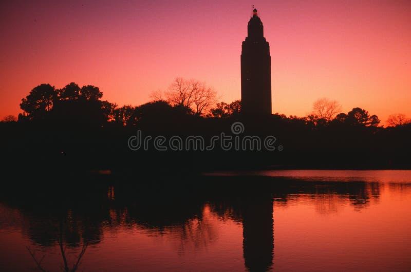TillståndsCapitol av Louisiana arkivfoton