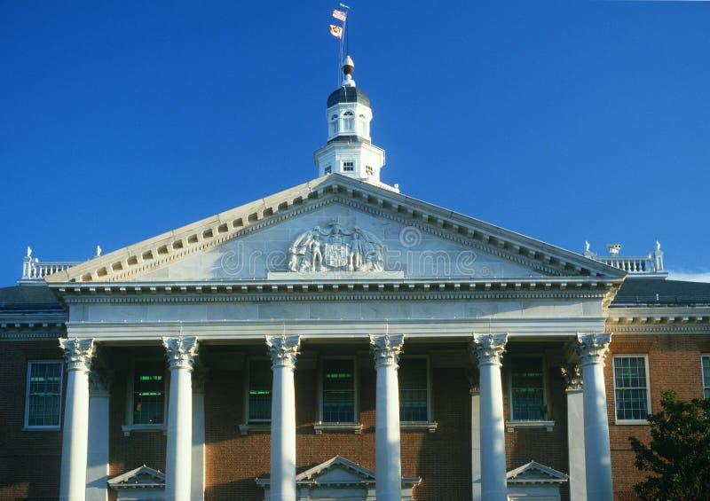 TillståndsCapitol av Maryland royaltyfria bilder