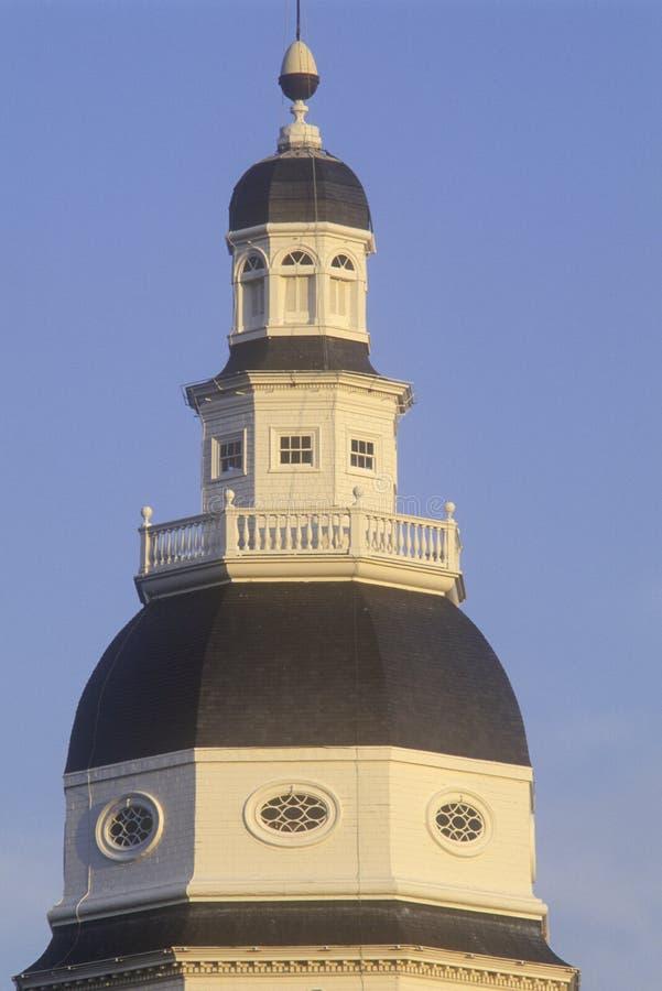 TillståndsCapitol av Maryland arkivfoton