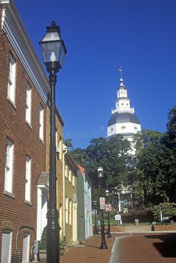 TillståndsCapitol av Maryland fotografering för bildbyråer