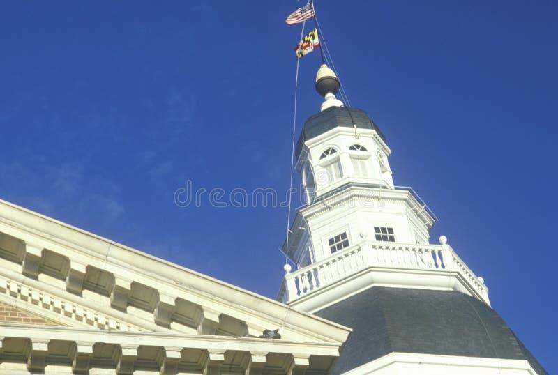 TillståndsCapitol av Maryland, arkivbilder