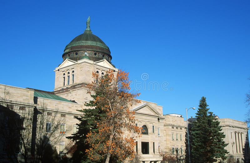 TillståndsCapitol Av Montana, Arkivbild