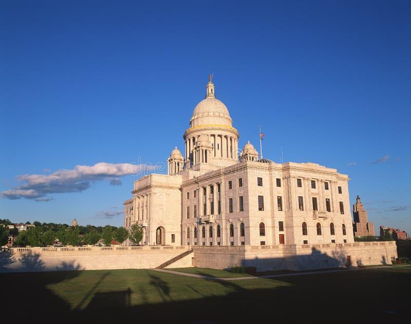 TillståndsCapitol av Rhode Island royaltyfri bild