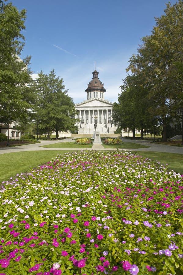 TillståndsCapitol av South Carolina royaltyfri fotografi