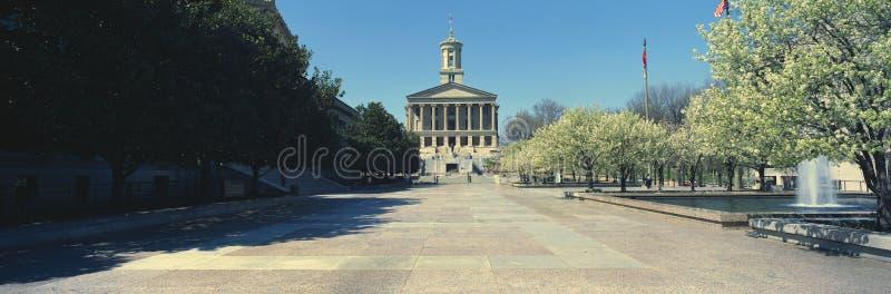 TillståndsCapitol av Tennessee royaltyfri fotografi