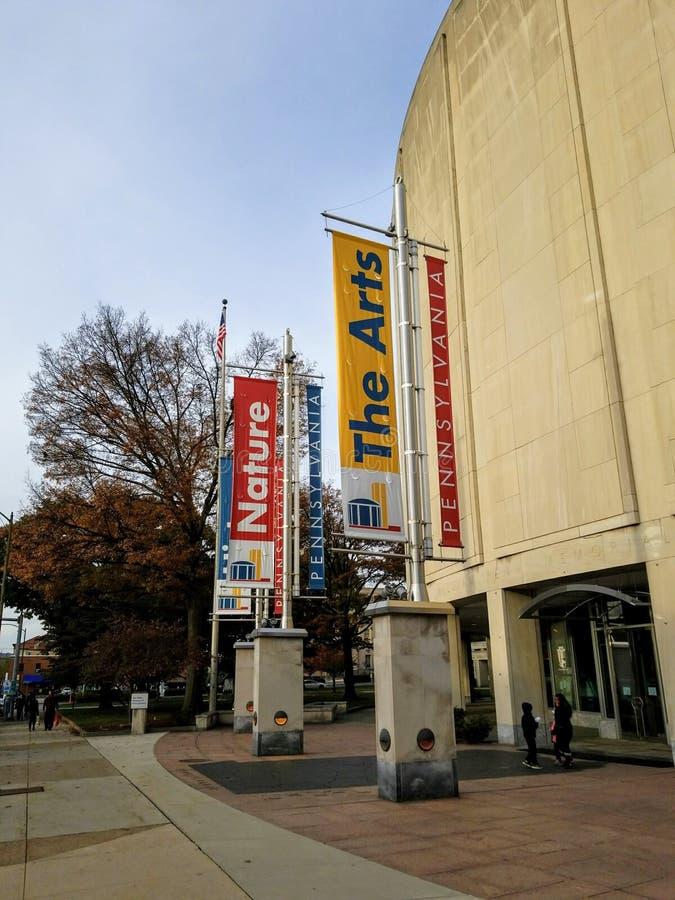 Tillståndsmuseum av Pennsylvania royaltyfria bilder