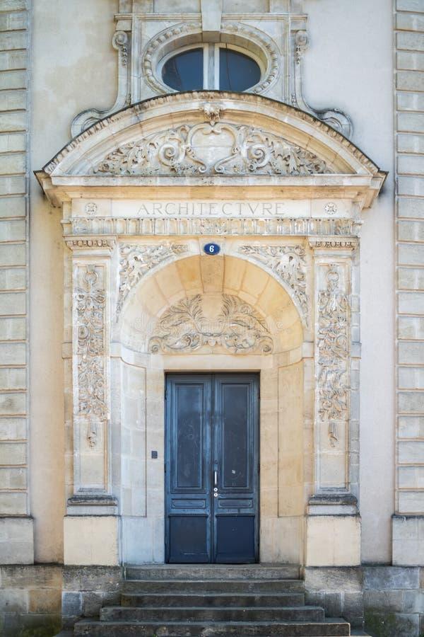 Tillträdeet av arkitekturbyggnaden fotografering för bildbyråer