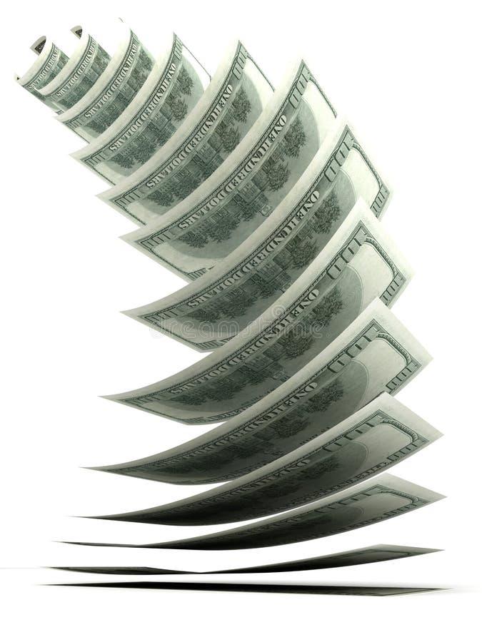 tillväxtpengar royaltyfri illustrationer